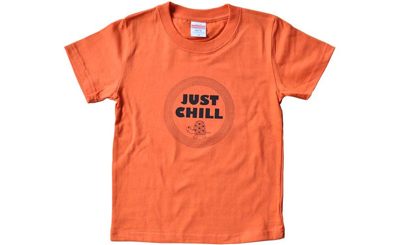 ジャストチルTシャツ◎オレンジ