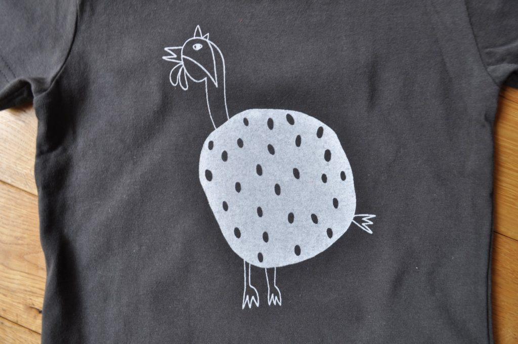 ホロホロ鳥Tシャツ